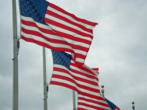 The Flag of the U.S.A.