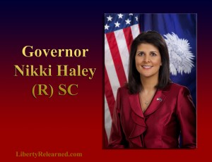 Nikki Haley, (R), SC