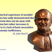 St. John Paul II on Socialism