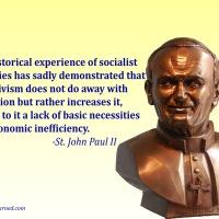 St. John Paul II on Socialism