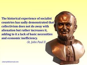 St JPII on Socialism