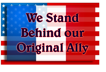 USA Behind France Ally