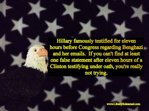 Eagle Union Hillary Tesimony