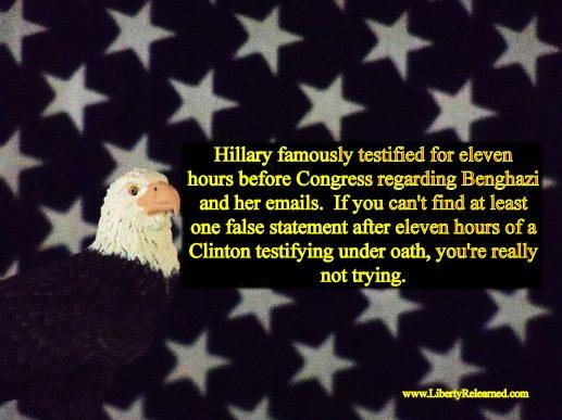 Eagle Union Hillary Tesimony