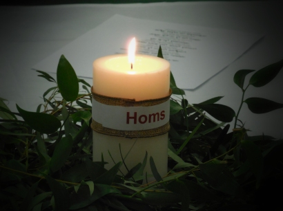 Candle for Homs, Syria